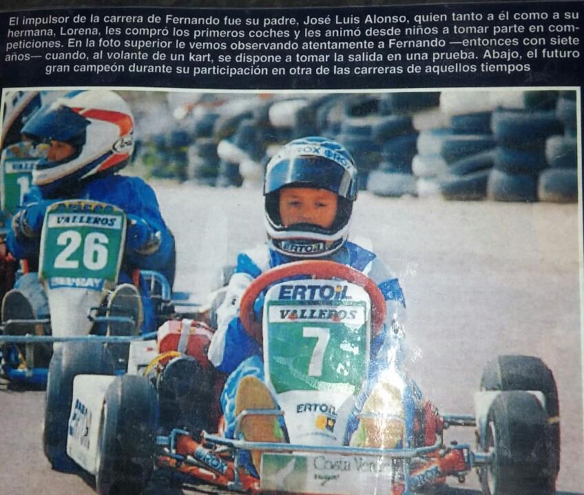 Alonso con Valleros